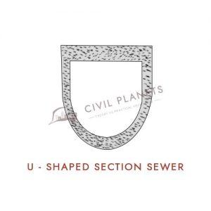 U Shaped Sewer