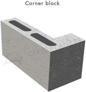 Corner-block