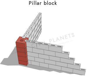 Pillar-block