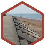 Stepped Face Sea Wall