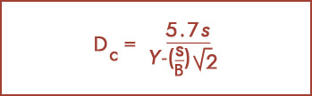 Terzaghi equation