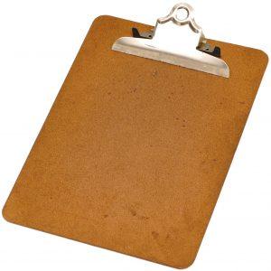 Wood-clipboard