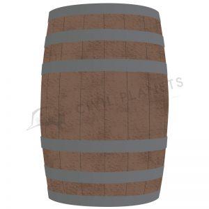 Metal-Bands-on-Wooden-Barrels