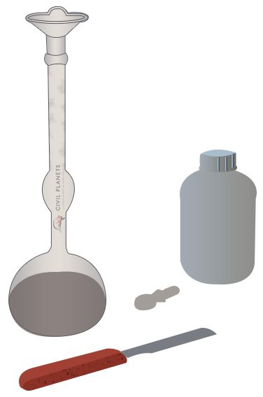 Specific Gravity of Cement Test Apparatus